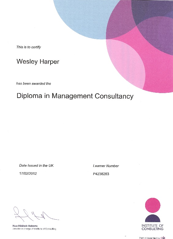 Insitute of Consulting Diploma